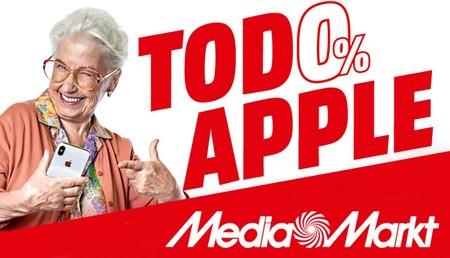 Esta semana, financiación al 0% a partir de 299 euros en la gama Apple en MediaMarkt