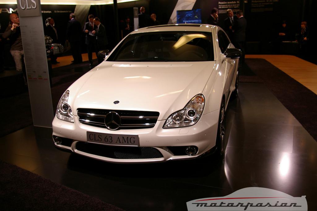 Foto de Mercedes-Benz CLS63 AMG en el salón de Ginebra (1/9)
