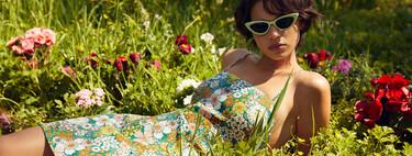 El estampado floral vintage (o de estilo retro) invade la nueva colección de Pull & Bear con propuestas ganadoras para verano