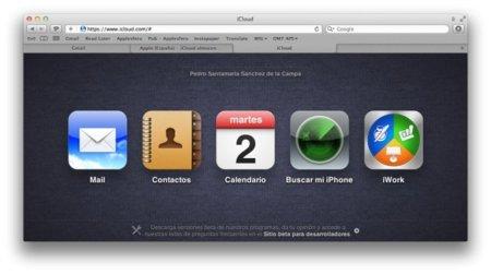 iCloud, disponible la web que da acceso al nuevo servicio de Apple (sólo para desarrolladores)