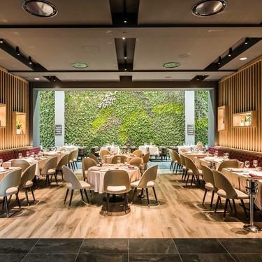 El jardín vertical interior más grande de Europa, está en el restaurante Bálamo en Madrid