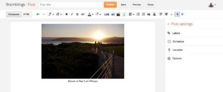 La nueva interfaz de Blogger ya está aquí