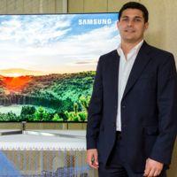 """""""El nuevo dividendo digital nos abre muchas posibilidades para nuevos canales con UHD"""" Nacho Monge, Samsung"""
