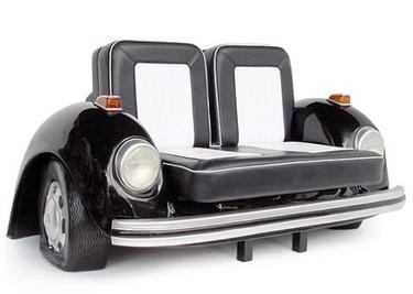 """Un sofá inspirado en el """"escarabajo"""" de Volkswagen"""