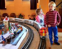 La historia del ferrocarril en miniatura, una preciosa maqueta en Sevilla