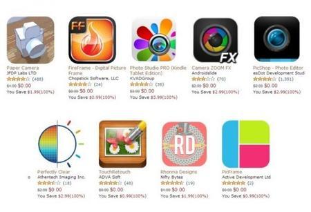 Solo hoy, 9 increíbles aplicaciones de fotografía totalmente gratis en Amazon AppStore