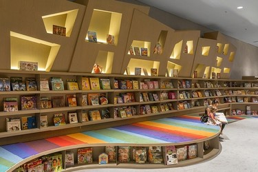 Una librería de diseño para animar a los más pequeños a la lectura