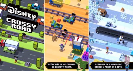 Disney Crossy Road, el adictivo juego de cruzar la carretera protagonizado por las figuras de Disney