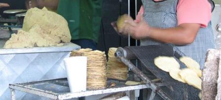 Haciendo tortilla
