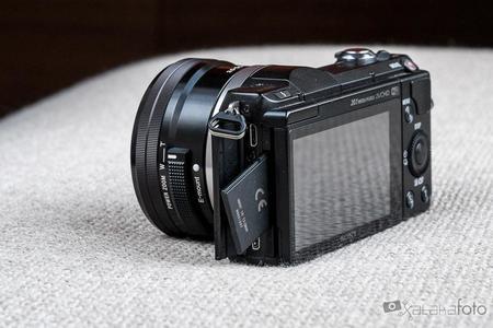 Sony A5000 tarjeta