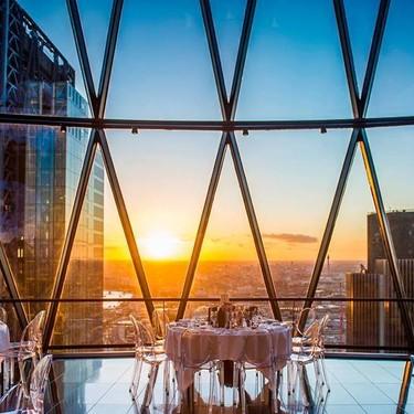 Los nueve restaurantes con las mejores vistas de Londres