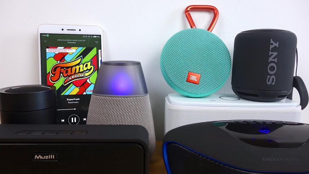 Altavoces Bluetooth® Menos 50 Euros