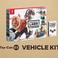 Surgen nuevos detalles del Kit Vehículo de Nintendo Labo junto con varios vídeos de sus Toy-Con [GC 2018]