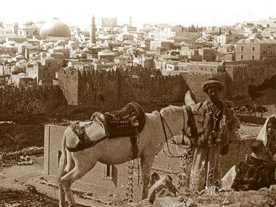 Las tierras de Palestina e Israel a principios del siglo XX, retratadas en 27 soberbias fotografías