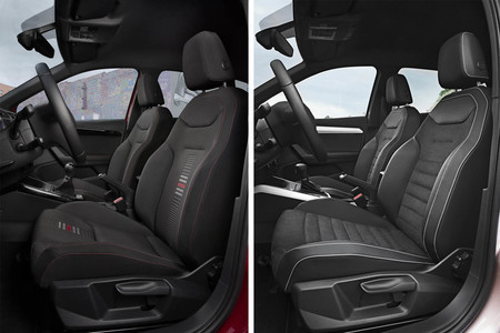 Seat Arona asientos delanteros