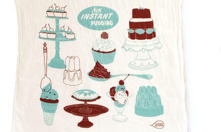 Los preciosos paños de cocina ilustrados de Claudia Pearson