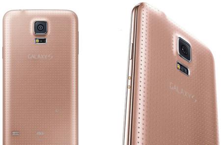 El Samsung Galaxy S5 rosa existe, pero sólo en Japón