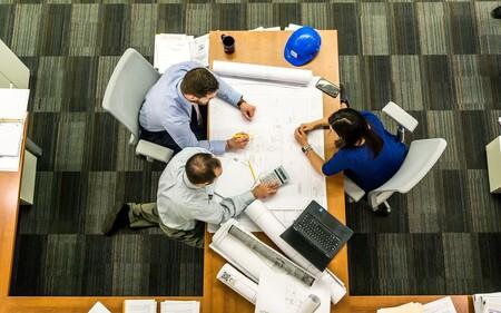 Foto de una reunión en una oficina