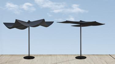 OM de Calma, una sombrilla de premio: diseño elegante e inteligente para tu jardín