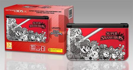 Nintendo 3DS tendrá edición limitada de Super Smash Bros