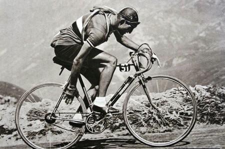 Gino Bartali Tour De France 1948 Winner Legnano Bike Campagnolo Cambia Corsa Groupset