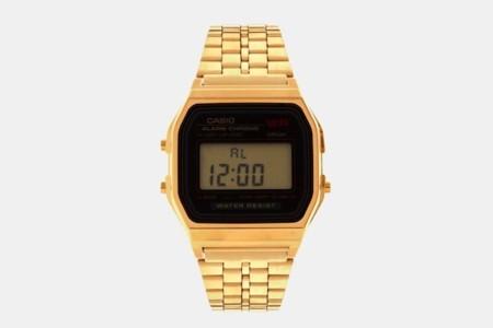 Casio dorado reloj