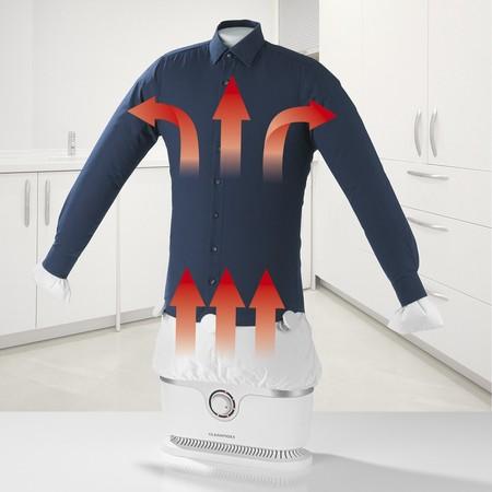 Por sólo 69,99 euros puedes ahorrar tiempo y esfuerzo con esta plancha automática para camisas y blusas en oferta flash de Amazon