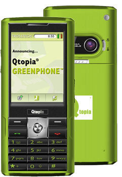 GreenPhone, móvil con Linux