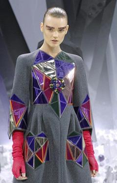 modelo desfile Chanel 2012-2013