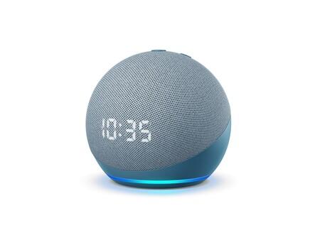 Nuevo Echo Dot Con Reloj 2020 Diseno Esfera