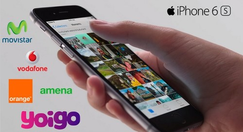 Comparativa precios definitivos iPhone 6s y 6s Plus con tarifas Movistar, Vodafone, Orange, Yoigo y Amena
