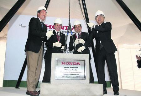Comienza la edificación de la planta de transmisiones de Honda en Celaya