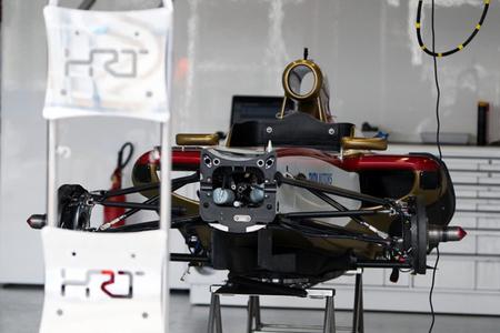 Problemas para HRT: pide a la FIA retrasar la inspección de su segundo monoplaza