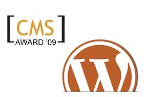 Wordpress gana el premio al mejor CMS open source de 2009