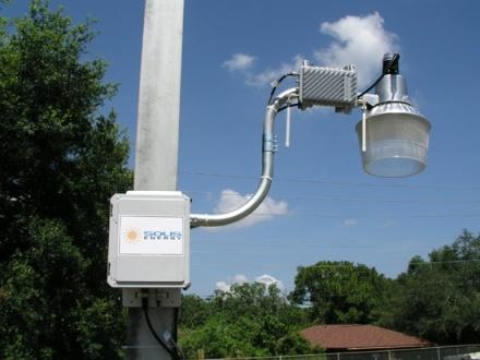 WiFi solar en las calles