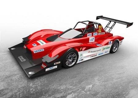 El Mitsubishi MiEV Evolution III ultima preparativos para afrontar Pikes Peaks