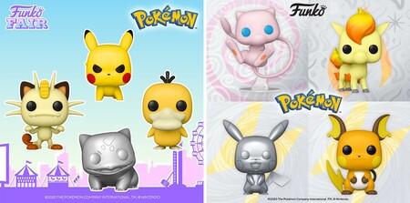 Figuras Funko POP de Pokémon en preventa en Amazon México