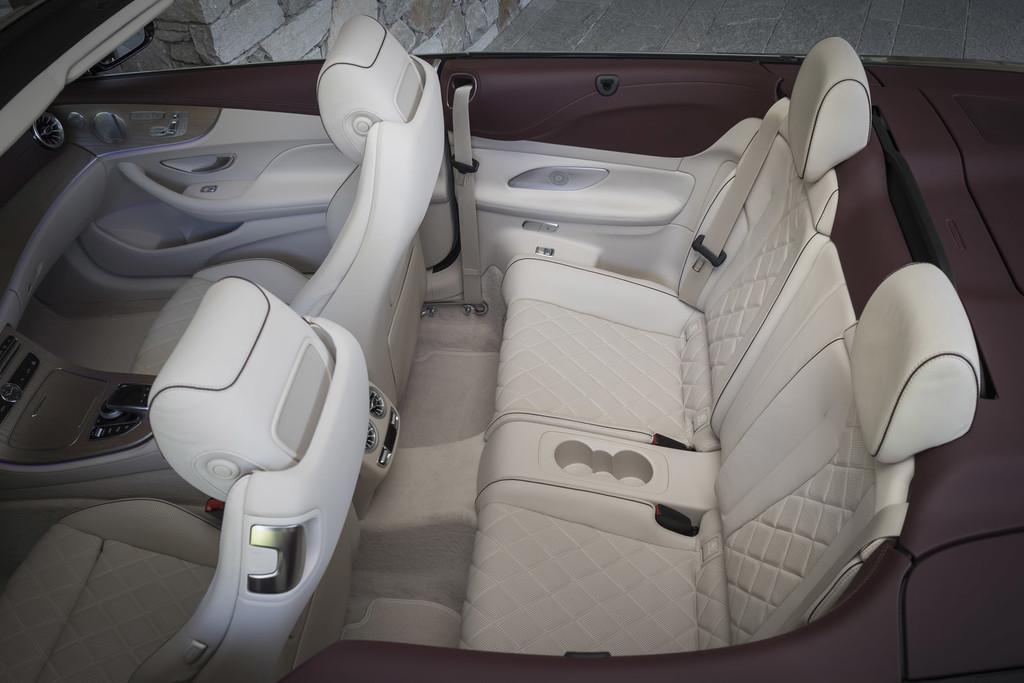 Mercedes-Benz Clase E Cabrio, prueba contacto