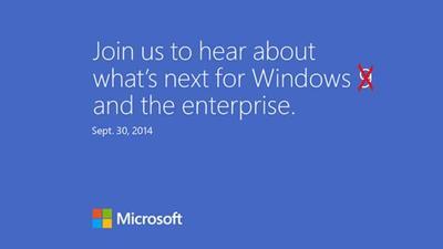 Microsoft vuelve a rectificar después de que uno de sus directivos nombrase públicamente a Windows 9