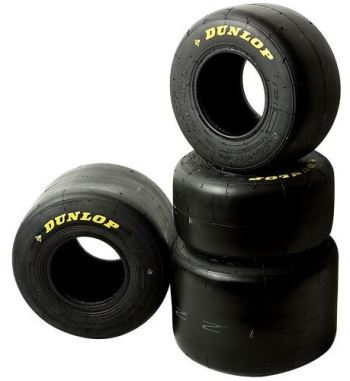 Gama de neumáticos Dunlop para Karting