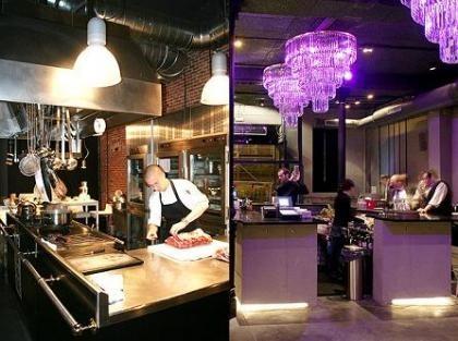 Le Garage, un restaurante con cuatro ambientes