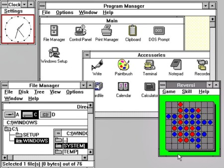 Windows3 0