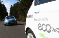 """Los Ford Fiesta ECOnetic se imponen en una carrera """"eficiente"""" a sus rivales"""