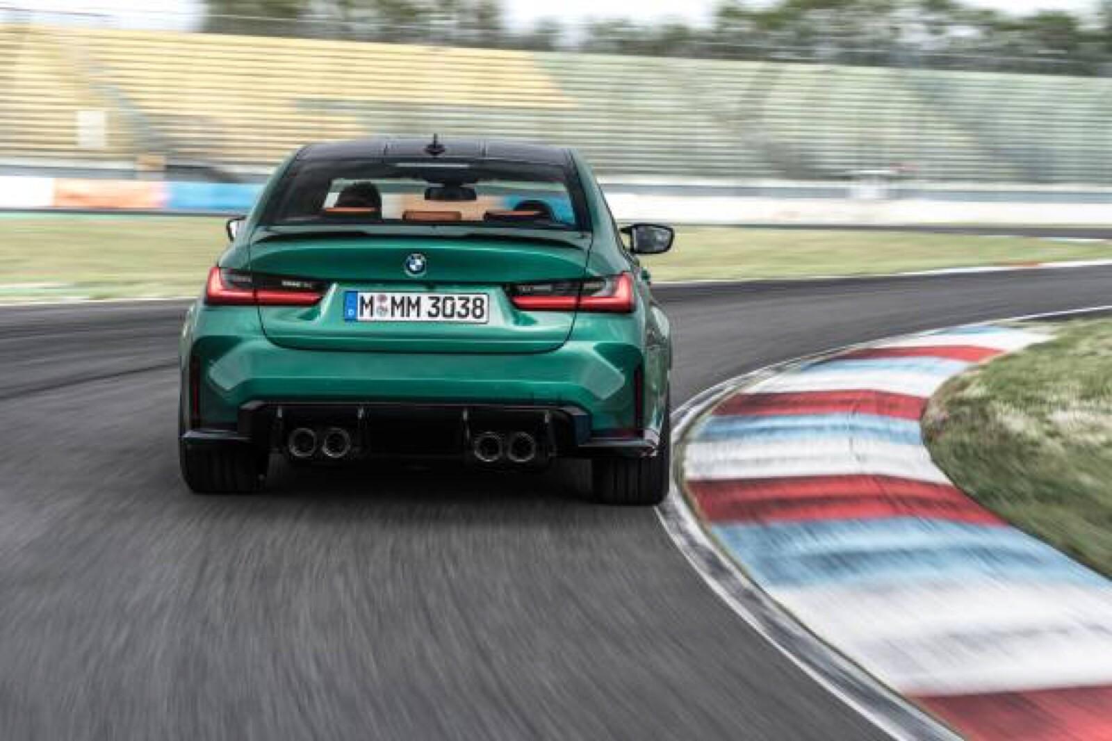 Foto de BMW M3 Competition 2021 (26/40)