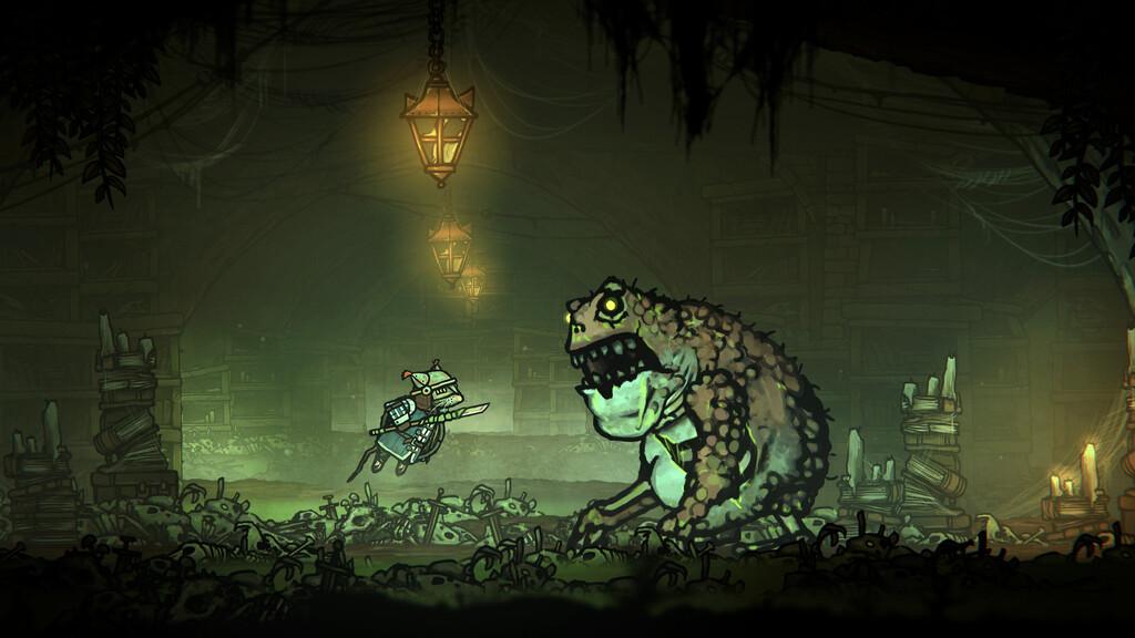Las ratas se enfrentarán contra las ranas en Tails of Iron, un RPG dibujado a mano que fija su lanzamiento para septiembre