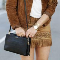 Duelo de faldas (y flecos): ¿Qué blogger la luce mejor?