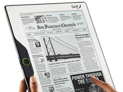 Skiff Reader, más tamaño para el libro electrónico