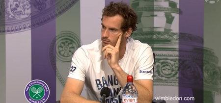 """""""Male player"""": el reproche de Andy Murray a un periodista que le planteó una pregunta sexista"""