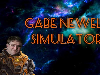 El Gabe Newell Simulator llega a Early Access, y esto no es ninguna broma