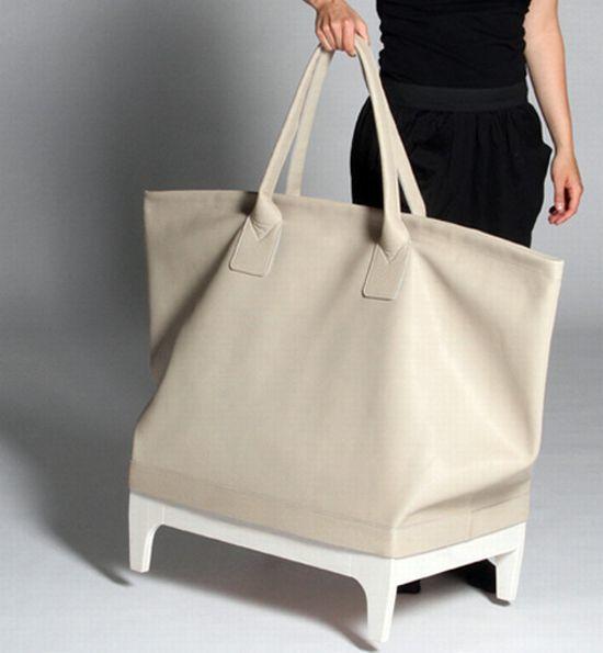 Foto de Un gran bolso como mueble de almacenaje (3/5)
